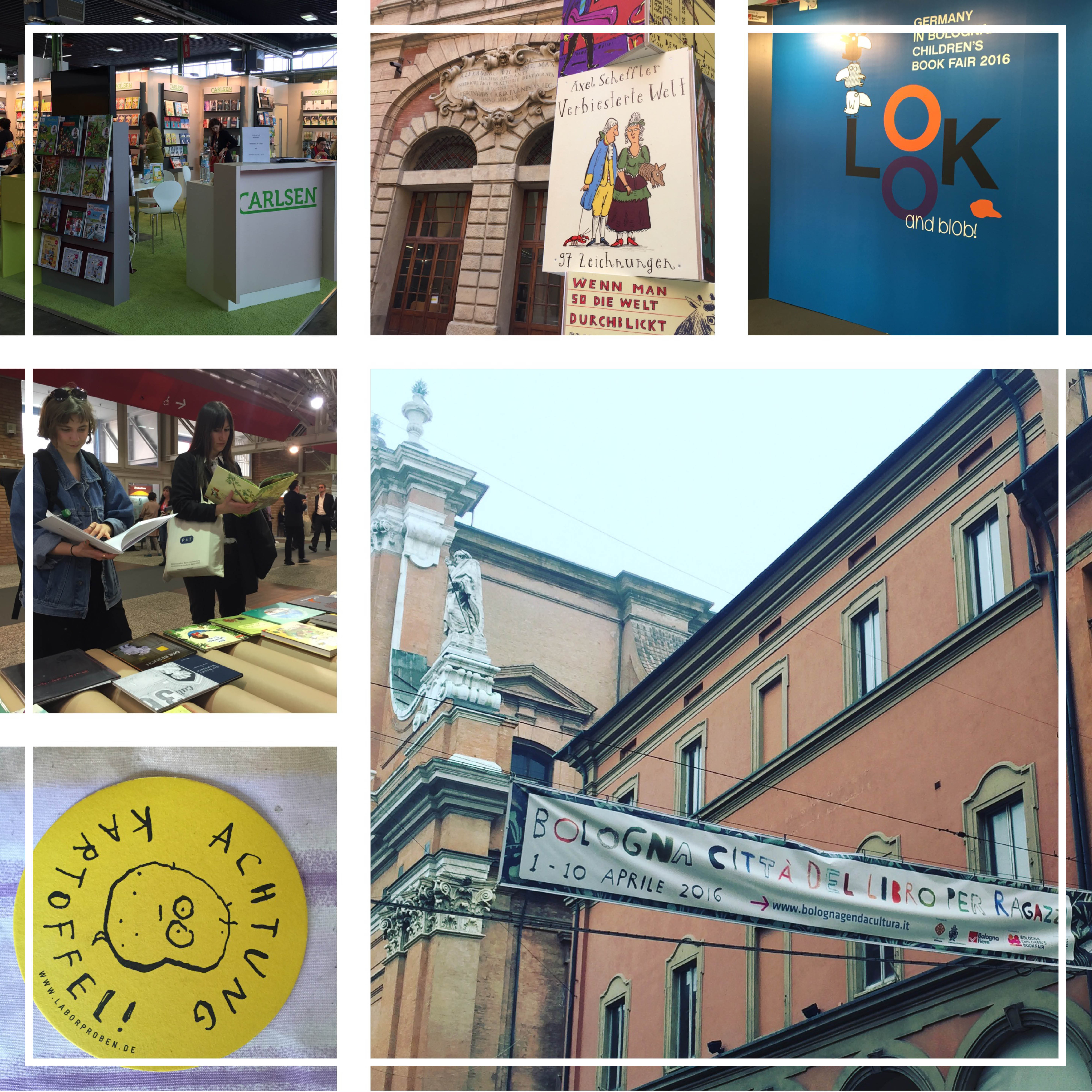 Reise: Kinderbuchmesse in Bologna