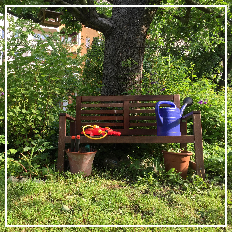 Text: Ein Garten für meinen Kirschbaum