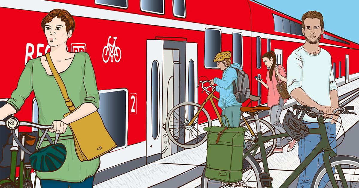 Deutsche Bahn: Fahrradmitnahme